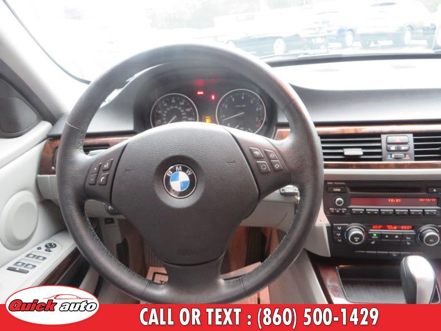 Used BMW 3 Series 4dr Sdn 328i xDrive AWD SULEV 2011 | Quick Auto LLC. Bristol, Connecticut