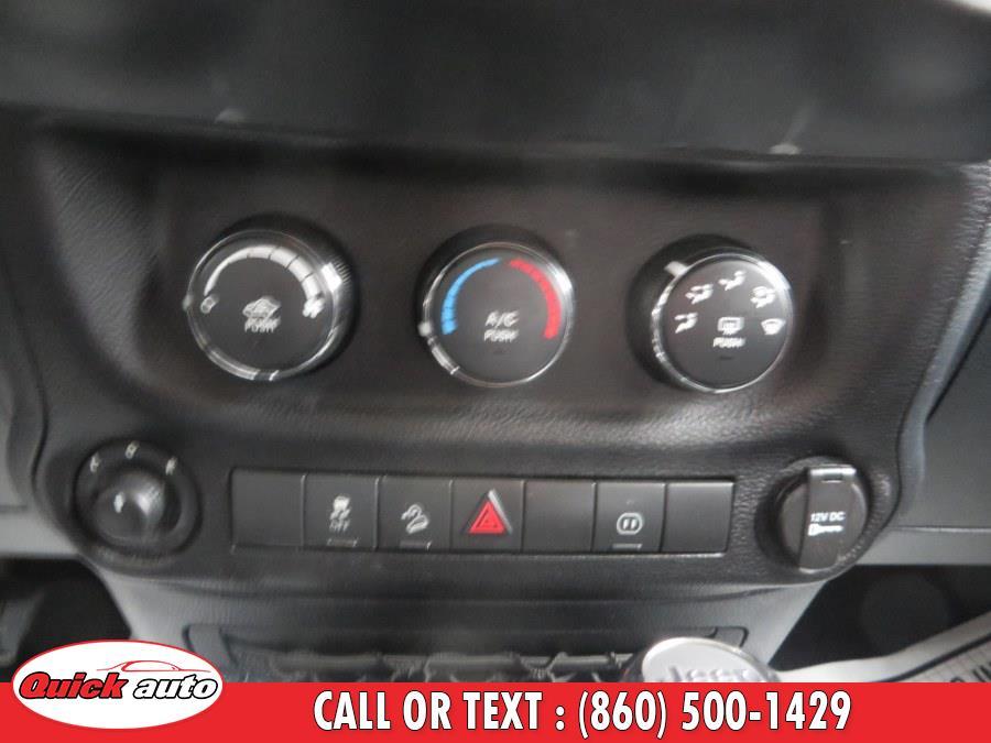 Used Jeep Wrangler Unlimited 4WD 4dr Sahara 2011   Quick Auto LLC. Bristol, Connecticut