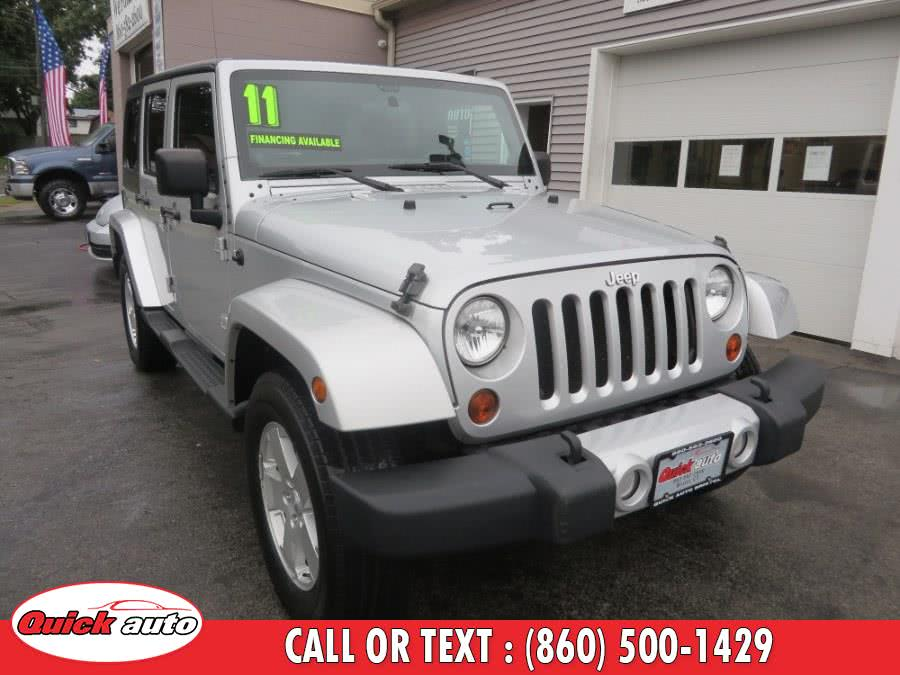 Used 2011 Jeep Wrangler Unlimited in Bristol, Connecticut | Quick Auto LLC. Bristol, Connecticut