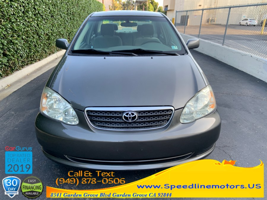 2006 Toyota Corolla 4dr Sdn CE Auto (Natl), available for sale in Garden Grove, California | Speedline Motors. Garden Grove, California