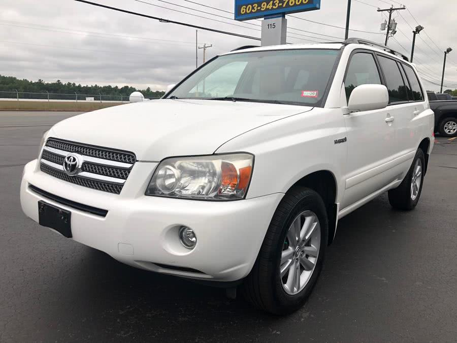 Used Toyota Highlander Hybrid 4WD w/3rd Row 2007 | RH Cars LLC. Merrimack, New Hampshire