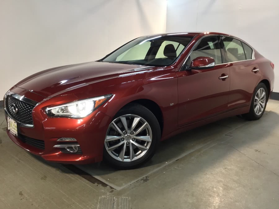 Used 2015 INFINITI Q50 in Hillside, New Jersey | M Sport Motor Car. Hillside, New Jersey