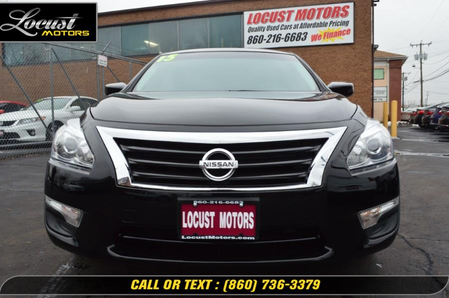 2015 Nissan Altima 4dr Sdn I4 2.5 S, available for sale in Hartford, Connecticut   Locust Motors LLC. Hartford, Connecticut