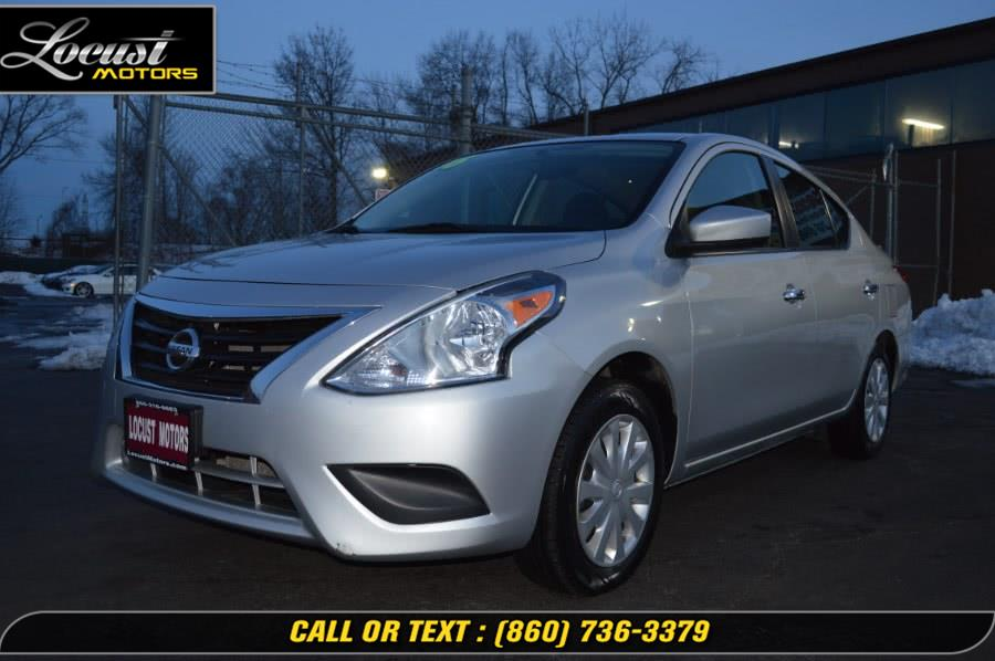 Used 2016 Nissan Versa in Hartford, Connecticut | Locust Motors LLC. Hartford, Connecticut