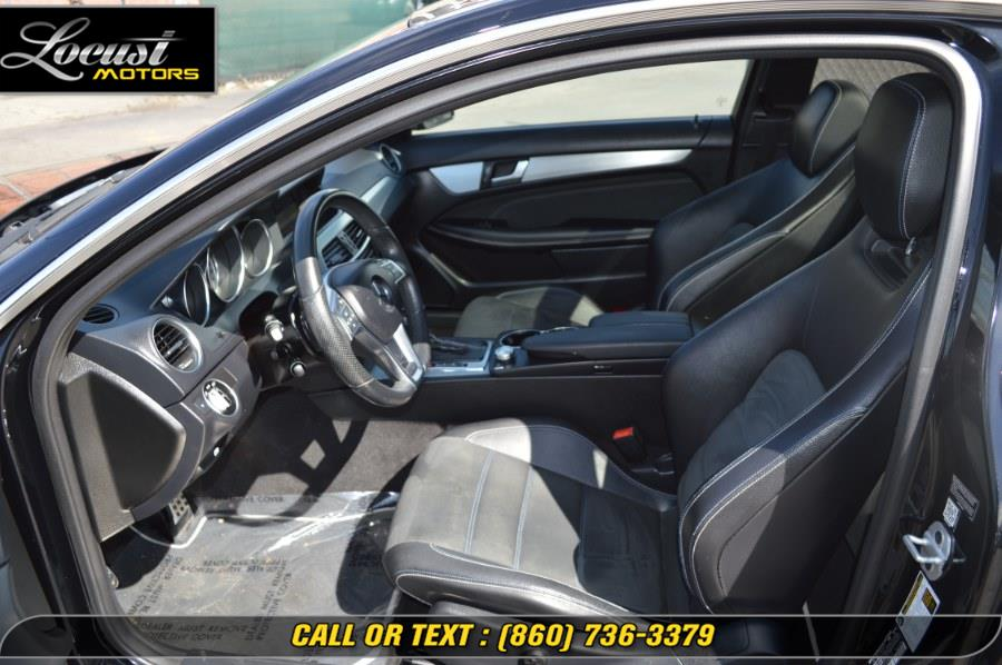 2015 Mercedes-Benz C-Class 2dr Cpe C 250 RWD, available for sale in Hartford, Connecticut | Locust Motors LLC. Hartford, Connecticut