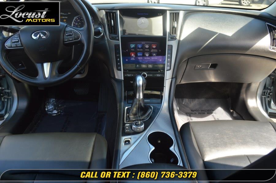 2017 INFINITI Q50 3.0t Premium RWD, available for sale in Hartford, Connecticut   Locust Motors LLC. Hartford, Connecticut