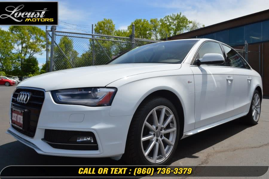Used 2015 Audi A4 in Hartford, Connecticut | Locust Motors LLC. Hartford, Connecticut