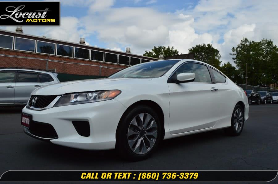 Used 2015 Honda Accord Coupe in Hartford, Connecticut | Locust Motors LLC. Hartford, Connecticut