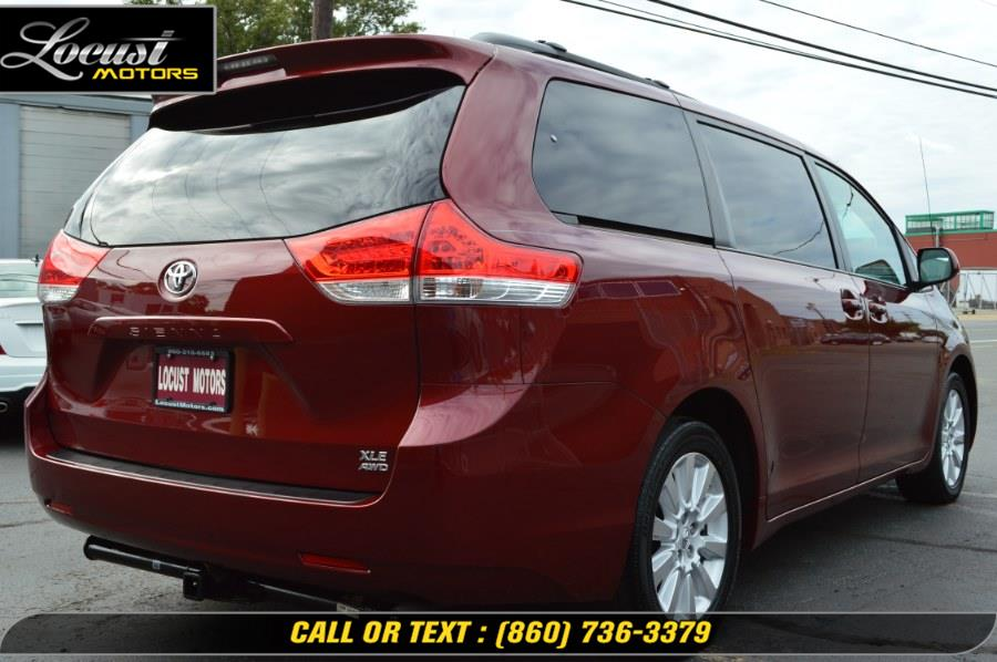 2014 Toyota Sienna 5dr 7-Pass Van V6 Ltd AWD (Natl), available for sale in Hartford, Connecticut | Locust Motors LLC. Hartford, Connecticut