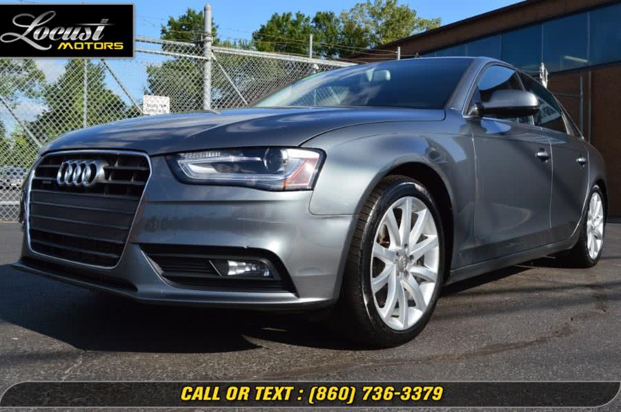 Used 2013 Audi A4 in Hartford, Connecticut | Locust Motors LLC. Hartford, Connecticut