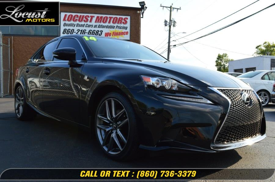 2014 Lexus IS 250 4dr Sport Sdn Auto AWD, available for sale in Hartford, Connecticut | Locust Motors LLC. Hartford, Connecticut