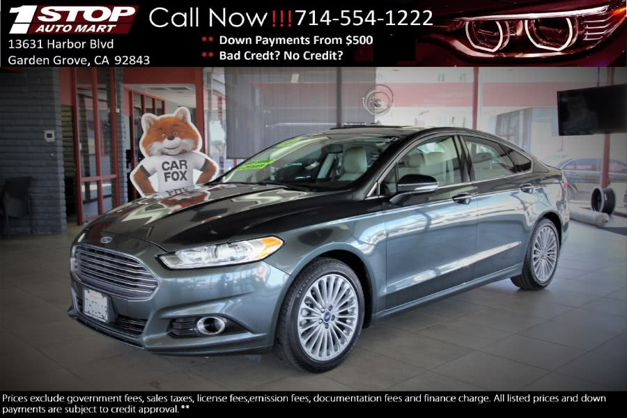 Used 2015 Ford Fusion in Garden Grove, California | 1 Stop Auto Mart Inc.. Garden Grove, California