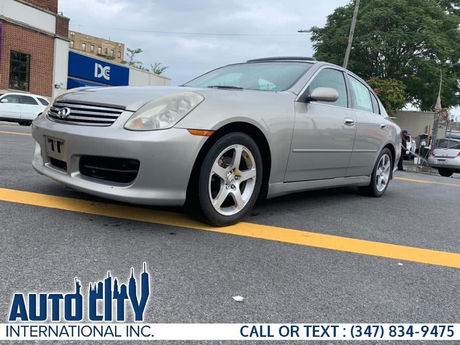 Used 2003 Infiniti G35 Sedan in Brooklyn, New York | Auto City Int Inc. Brooklyn, New York