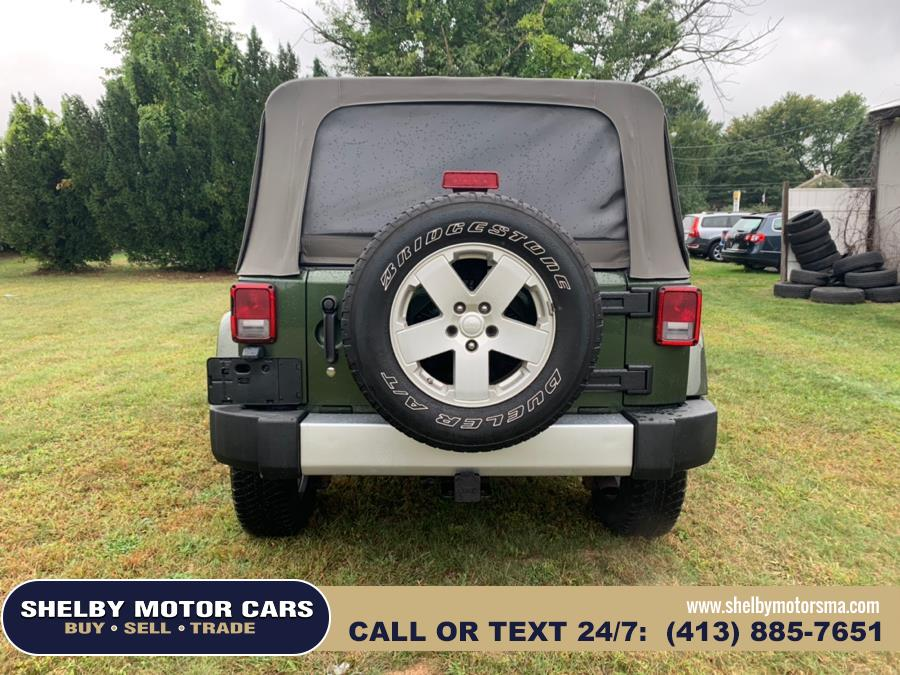 2008 Jeep Wrangler 4WD 4dr Unlimited Sahara, available for sale in Springfield, Massachusetts | Shelby Motor Cars . Springfield, Massachusetts