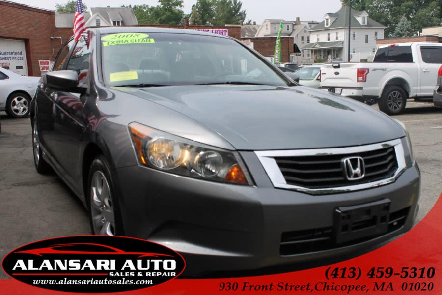 Used 2008 Honda Accord Sdn in Chicopee, Massachusetts | AlAnsari Auto Sales & Repair . Chicopee, Massachusetts