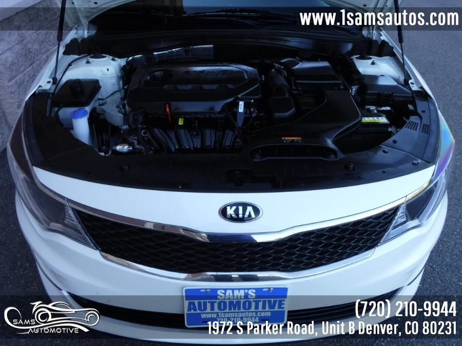 2016 Kia Optima 4dr Sdn LX, available for sale in Denver, Colorado | Sam's Automotive. Denver, Colorado