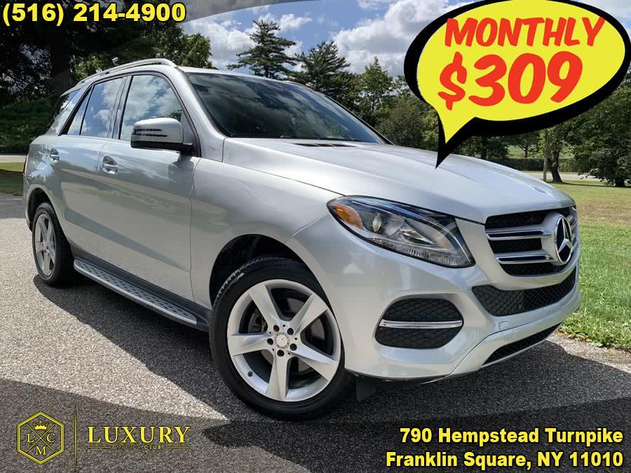 2016 Mercedes-Benz GLE-Class 4MATIC 4dr GLE 350, available for sale in Franklin Square, New York | Luxury Motor Club. Franklin Square, New York