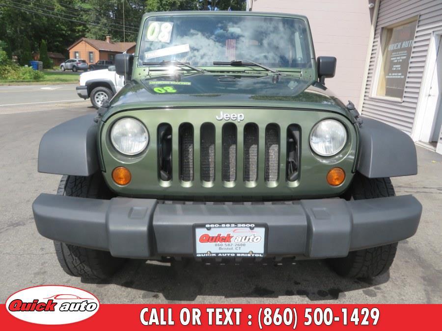 Used Jeep Wrangler 4WD 2dr X 2008 | Quick Auto LLC. Bristol, Connecticut