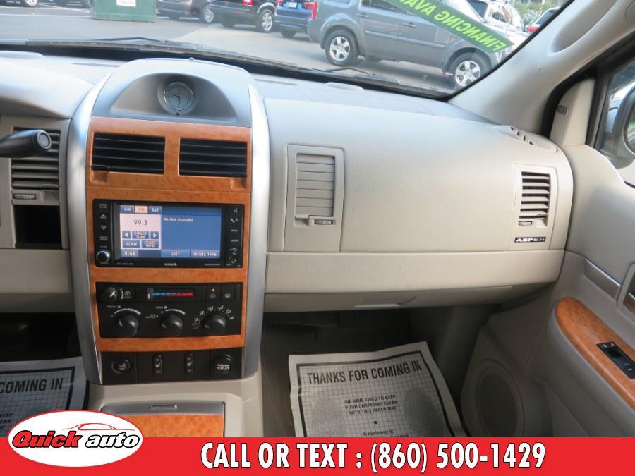 Used Chrysler Aspen AWD 4dr Limited 2008 | Quick Auto LLC. Bristol, Connecticut
