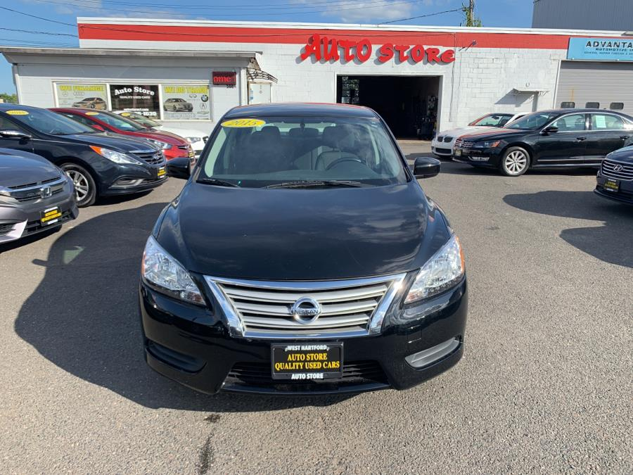 Used Nissan Sentra 4dr Sdn I4 CVT S 2015 | Auto Store. West Hartford, Connecticut
