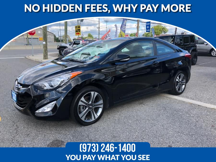 Used 2013 Hyundai Elantra Coupe in Lodi, New Jersey | Route 46 Auto Sales Inc. Lodi, New Jersey