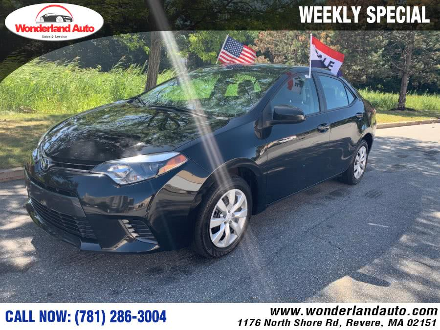 Used 2016 Toyota Corolla in Revere, Massachusetts | Wonderland Auto. Revere, Massachusetts