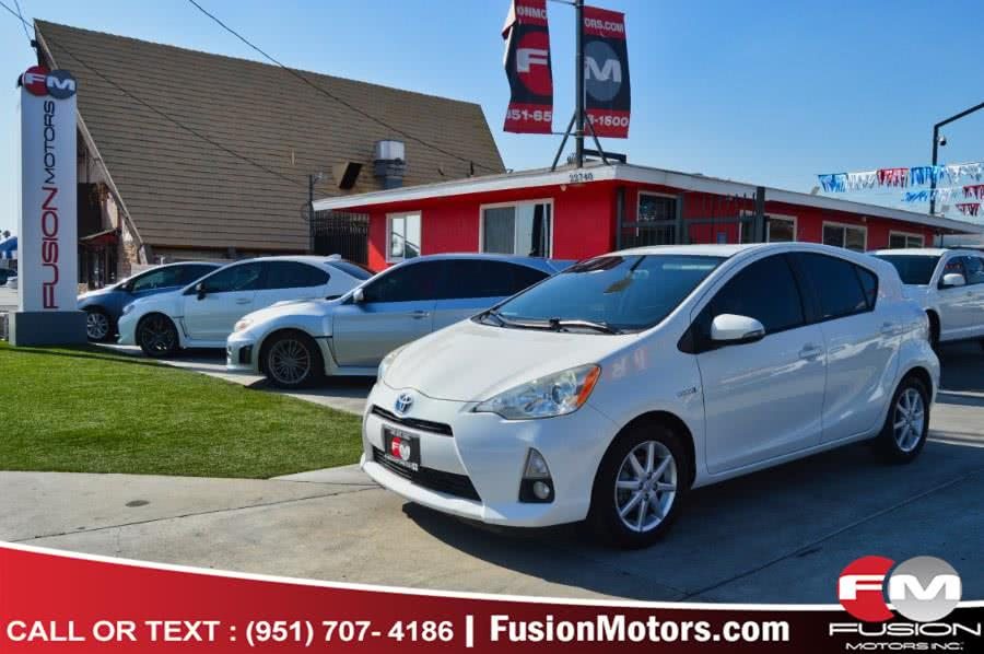 Used 2012 Toyota Prius c in Moreno Valley, California | Fusion Motors Inc. Moreno Valley, California