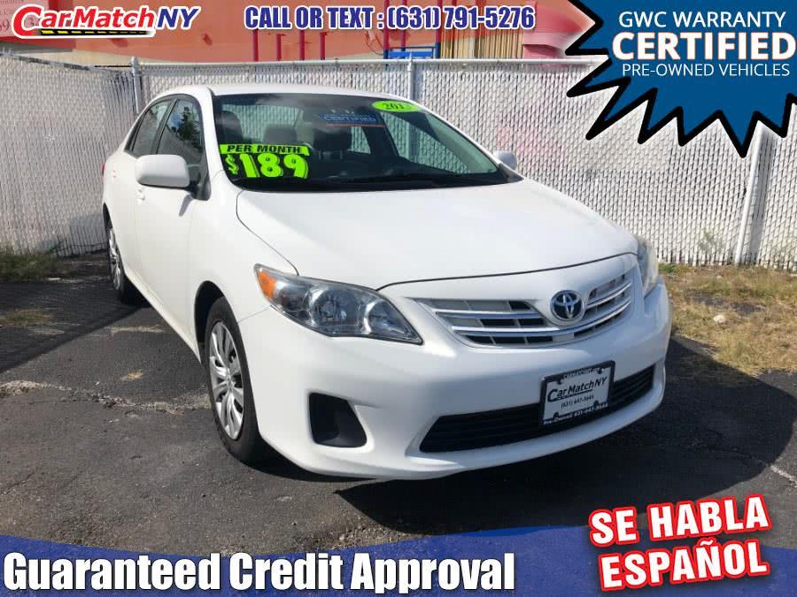 Used 2013 Toyota Corolla in Bayshore, New York | Carmatch NY. Bayshore, New York