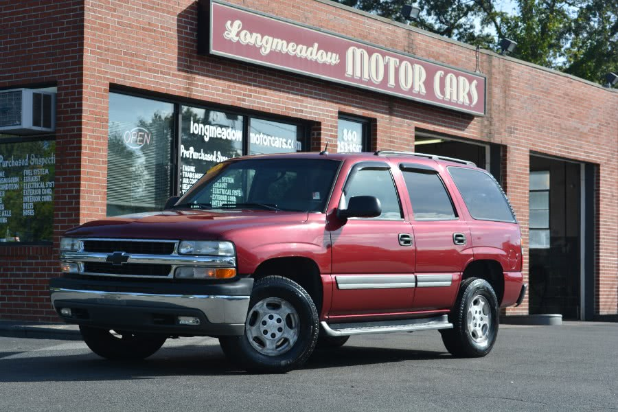 Used 2005 Chevrolet Tahoe in ENFIELD, Connecticut | Longmeadow Motor Cars. ENFIELD, Connecticut
