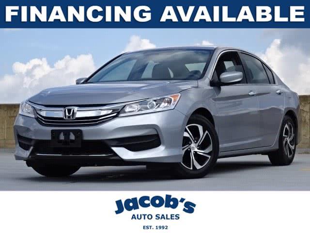 Used Honda Accord Sedan LX CVT 2017 | Jacob Auto Sales. Newton, Massachusetts
