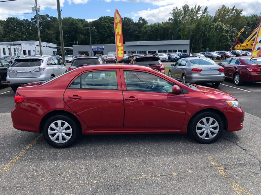 2010 Toyota Corolla 4dr Sdn Auto LE, available for sale in Manchester, Connecticut | Manchester Car Center. Manchester, Connecticut