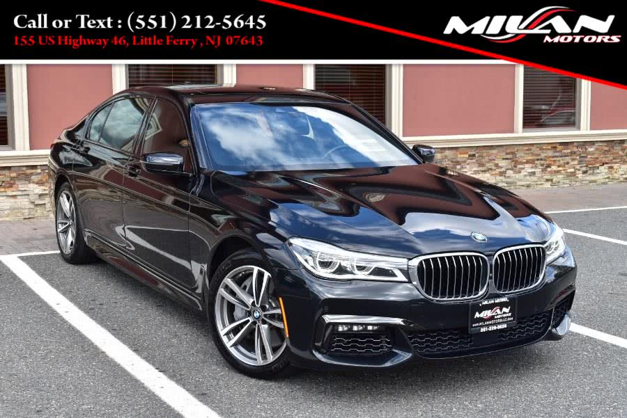 Used BMW 7 Series M-Sport Package 750i xDrive Sedan 2017 | Milan Motors. Little Ferry , New Jersey