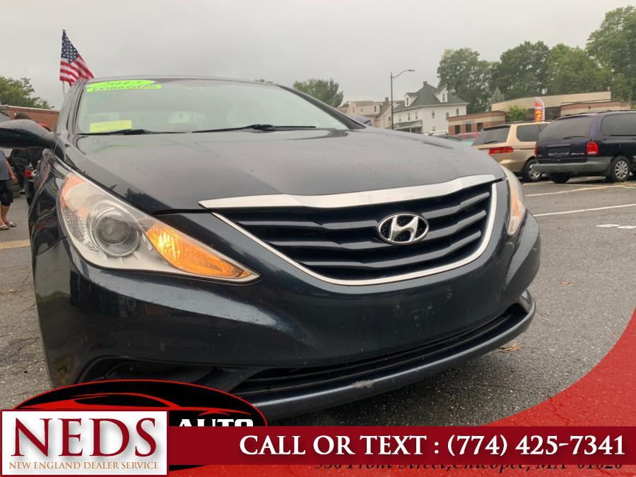 2012 Hyundai Sonata 4dr Sdn 2.4L Auto GLS, available for sale in Indian Orchard, Massachusetts | New England Dealer Services. Indian Orchard, Massachusetts
