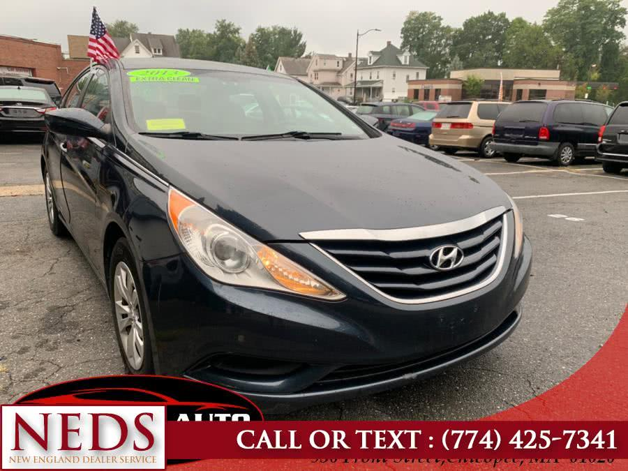 Used 2012 Hyundai Sonata in Indian Orchard, Massachusetts | New England Dealer Services. Indian Orchard, Massachusetts