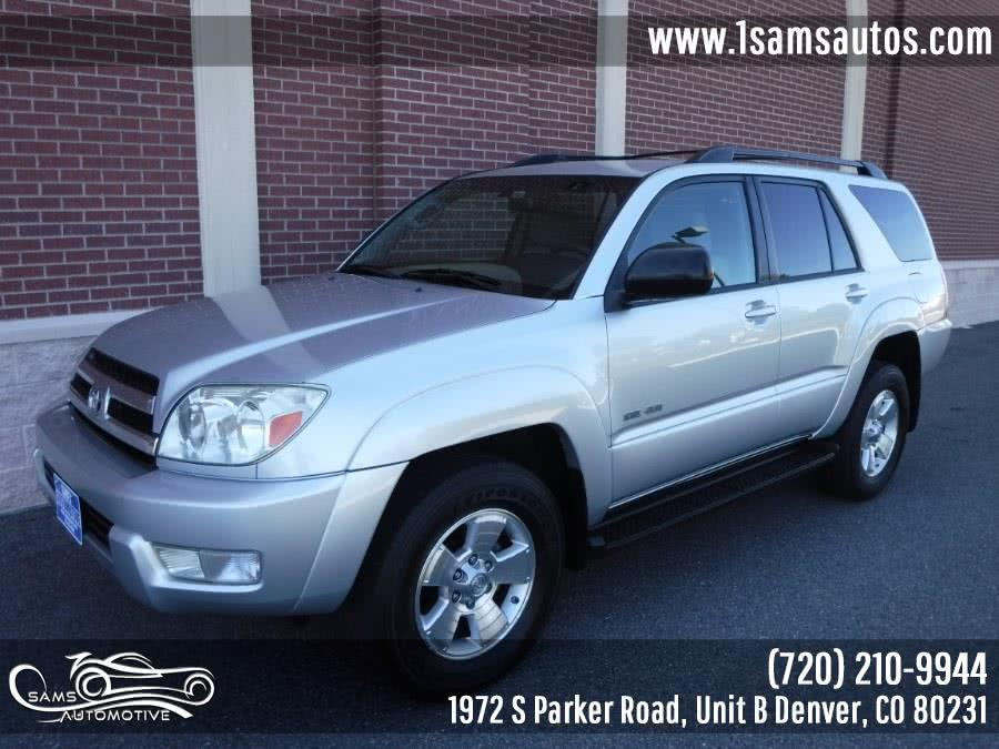 Used 2005 Toyota 4Runner in Denver, Colorado | Sam's Automotive. Denver, Colorado