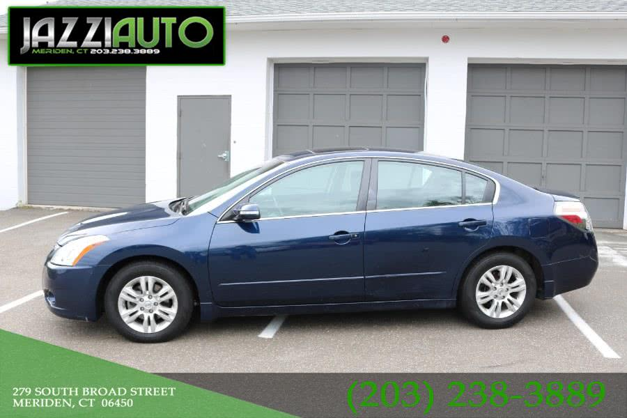 2011 Nissan Altima 4dr Sdn I4 CVT 2.5 S, available for sale in Meriden, Connecticut | Jazzi Auto Sales LLC. Meriden, Connecticut