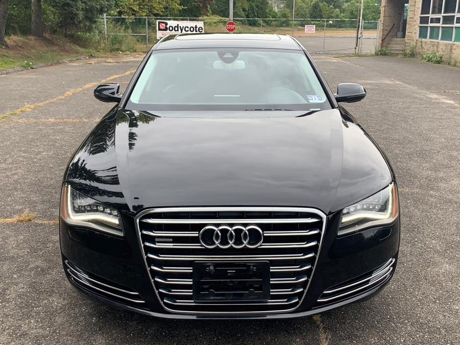 2012 Audi A8 L 4dr Sdn, available for sale in Waterbury, Connecticut | Platinum Auto Care. Waterbury, Connecticut