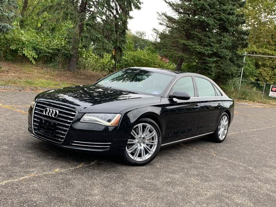 Used 2012 Audi A8 L in Waterbury, Connecticut | Platinum Auto Care. Waterbury, Connecticut