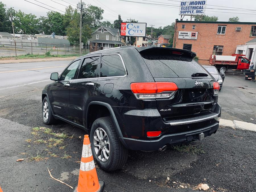 2016 Jeep Grand Cherokee 4WD 4dr Limited, available for sale in Danbury, Connecticut   Car City of Danbury, LLC. Danbury, Connecticut
