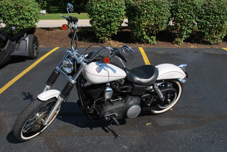 Used 2010 Harley Davidson FXDB Street Bob in Plainfield, Illinois | Showcase of Cycles. Plainfield, Illinois
