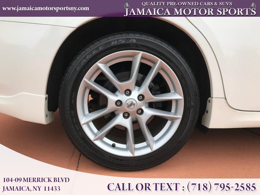 2011 Nissan Maxima 4dr Sdn V6 CVT 3.5 SV w/Premium Pkg, available for sale in Jamaica, New York | Jamaica Motor Sports . Jamaica, New York