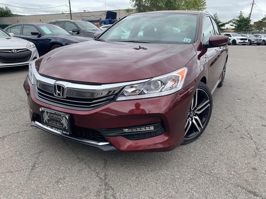 Used 2016 Honda Accord Sedan in Lodi, New Jersey | European Auto Expo. Lodi, New Jersey