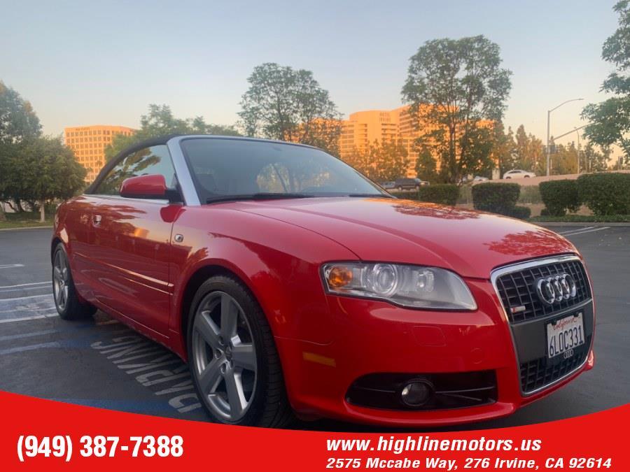 2009 Audi A4 2.0T S LINE, available for sale in Irvine, California | High Line Motors LLC. Irvine, California