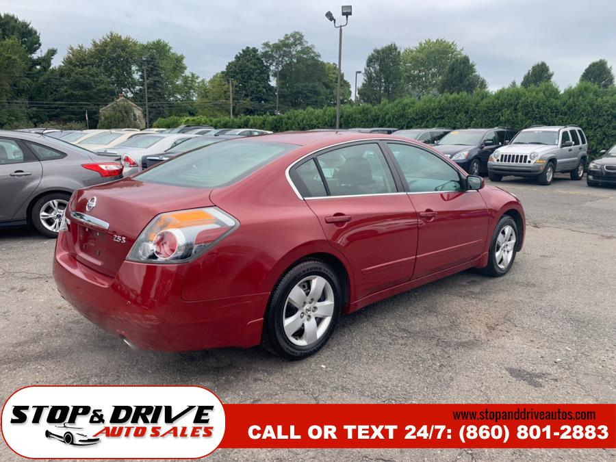 2007 Nissan Altima 4dr Sdn I4 CVT 2.5 S, available for sale in East Windsor, Connecticut | Stop & Drive Auto Sales. East Windsor, Connecticut