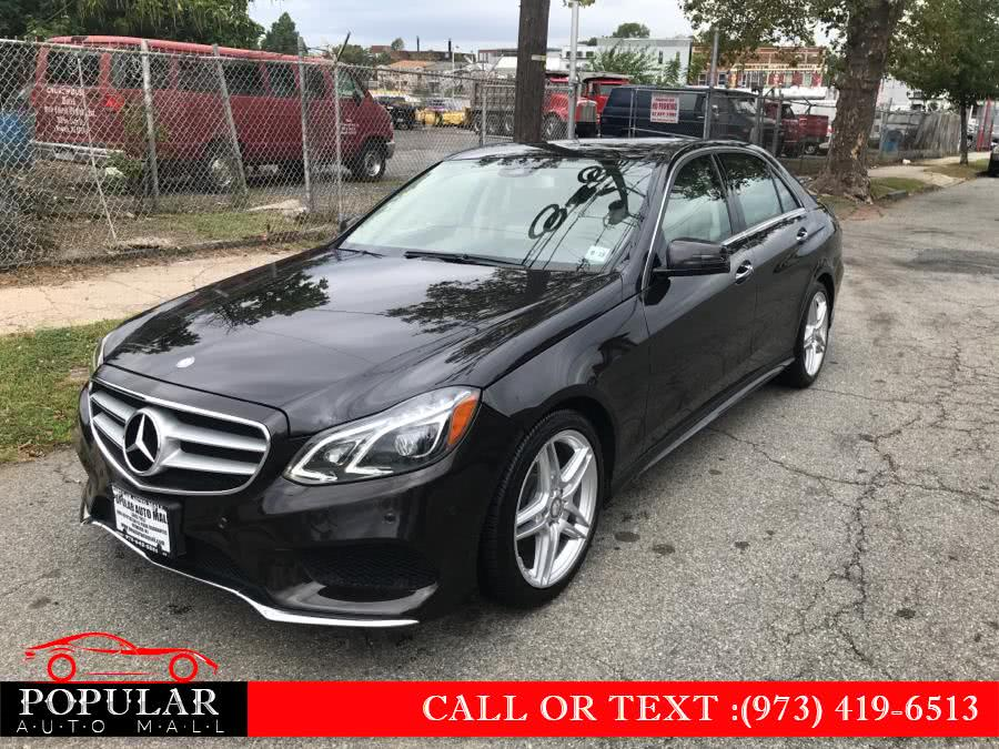Used 2014 Mercedes-Benz E-Class in Newark , New Jersey | Popular Auto Mall Inc . Newark , New Jersey