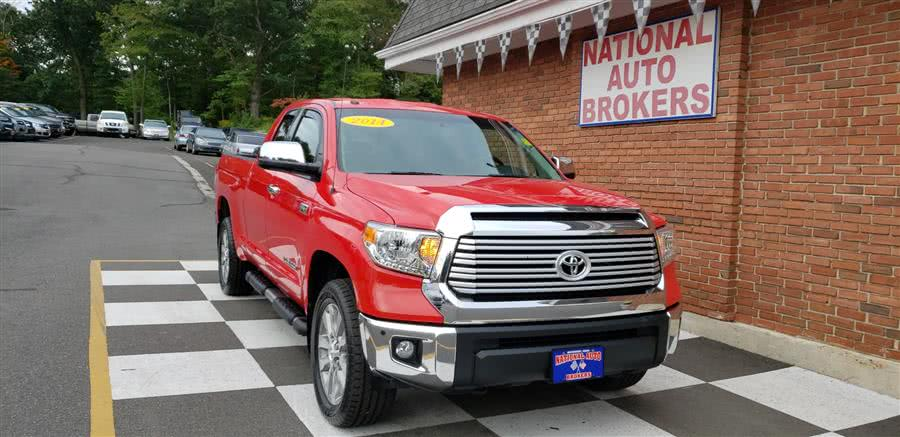Used Toyota Tundra 4WD Truck Double Cab 5.7L Limited 2014 | National Auto Brokers, Inc.. Waterbury, Connecticut