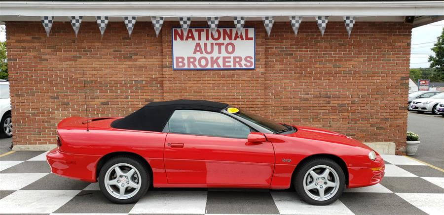 1998 Chevrolet Camaro 2dr Convertible SS, available for sale in Waterbury, Connecticut | National Auto Brokers, Inc.. Waterbury, Connecticut