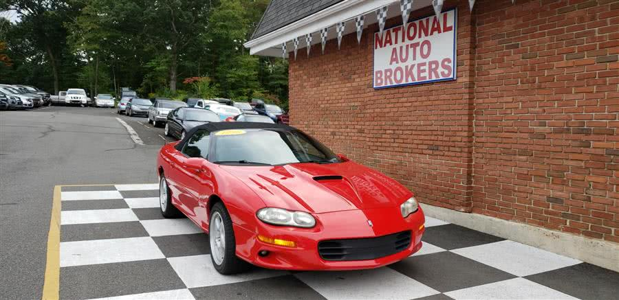 Used 1998 Chevrolet Camaro in Waterbury, Connecticut | National Auto Brokers, Inc.. Waterbury, Connecticut