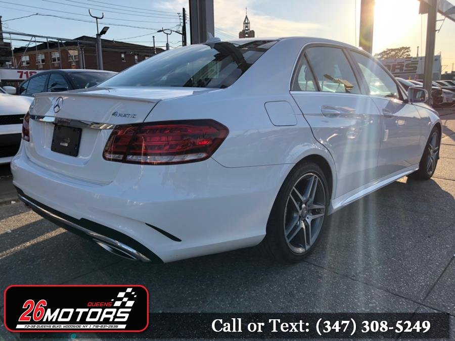 2016 Mercedes-Benz E-Class 4dr Sdn E350 Sport 4MATIC, available for sale in Bronx, New York | 26 Motors Corp. Bronx, New York