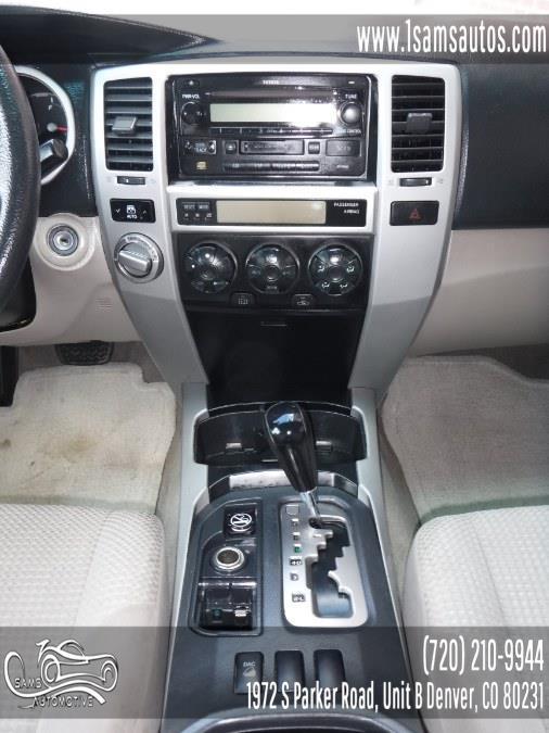 2005 Toyota 4Runner 4dr SR5 V6 Auto 4WD (Natl), available for sale in Denver, Colorado | Sam's Automotive. Denver, Colorado